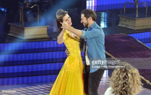 Amelia Bono during 'Bailando con las estrellas' TVE programme on June 19 2018 in Barcelona Spain