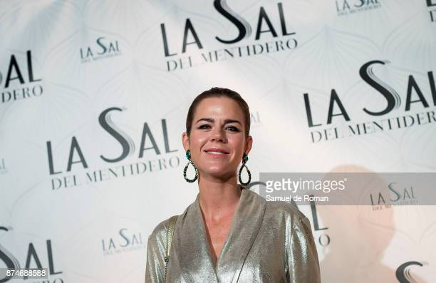 Amelia Bono during 'La Sal Del Mentidero' Inauguration on November 15 2017 in Madrid Spain