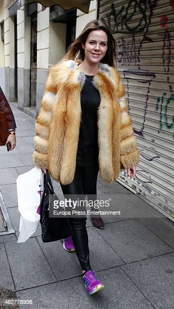 Amelia Bono is seen on February 3 2015 in Madrid Spain