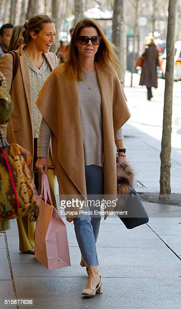 Amelia Bono is seen on March 14 2016 in Madrid Spain