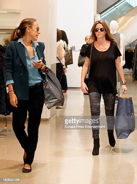 Amelia Bono is seen on October 1 2013 in Madrid Spain