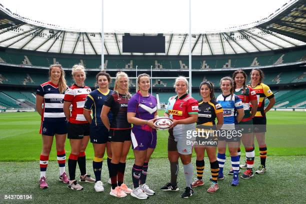 Amelia Buckland-Hurry of Bristol Ladies, Courtney Peryer of Gloucester Hartpury, Zoe Bennion of Worcester Valkyries, Lotte Clapp of Saracens, Rachel...