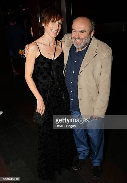 Amelia Bullmore and Andy Hamilton attend the after party for the World Premiere of 'What We Did On Our Holiday' Mint Leaf Lounge on September 22 2014...