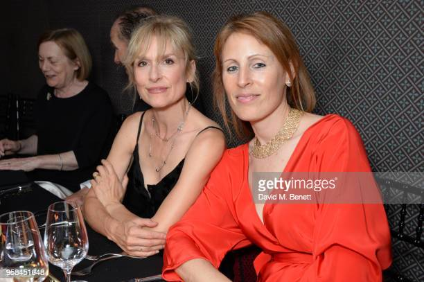 Amelia Bullmore and Old Vic executive director Kate Varah wearing Buccellati attend The Old Vic Bicentenary Ball to celebrate the theatre's 200th...