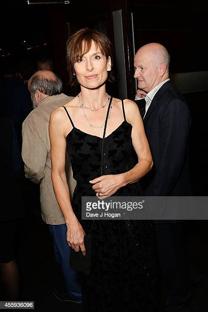 Amelia Bullmore attends the after party for the World Premiere of 'What We Did On Our Holiday' Mint Leaf Lounge on September 22 2014 in London England