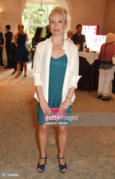 Amelia Bullmore attends The South Bank Sky Arts Awards drinks reception at The Savoy Hotel on July 9 2017 in London England