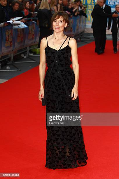 Amelia Bullmore attends the What We Did On Our Holiday World Premiere at Odeon West End on September 22 2014 in London England