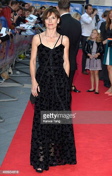 Amelia Bullmore attends the World Premiere of 'What We Did On Our Holiday' at Odeon West End on September 22 2014 in London England