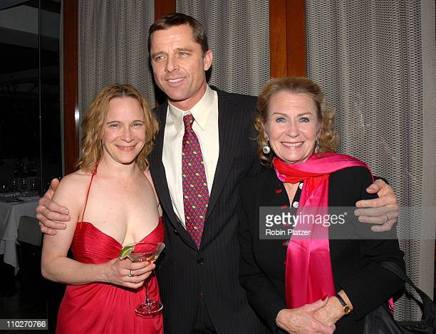 Amelia Campbell and costar Maxwell Caulfield and Juliet Mills