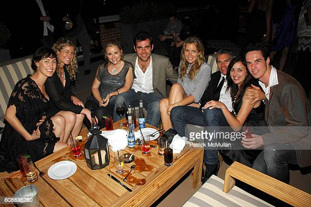 Amelia Chaney Anna Patterson Trilby Glover Mark Andrich Sophie Fuhrmann Kelley Blevins Helen Andrich and Will Woods attend THE CINEMA SOCIETY and W...
