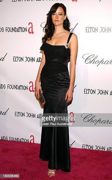 Amelia Cooke during 13th Annual Elton John AIDS Foundation Oscar Party Cohosted by Chopard Arrivals at Pacific Design Center in Los Angeles...