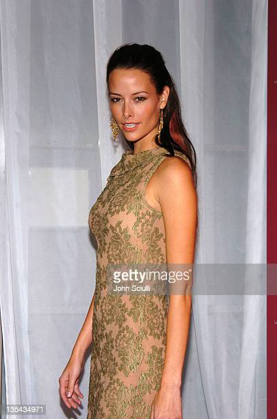 Amelia Cooke during 2nd Annual Lingerie Art Auction and Fashion Show Hosted by Fredericks of Hollywood Red Carpet at Hollywood Roosevelt Hotel in Los...