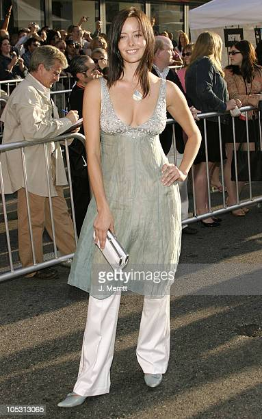 Amelia Cooke during Raising Helen Los Angeles Premiere Arrivals at El Capitan Theatre in Hollywood California United States