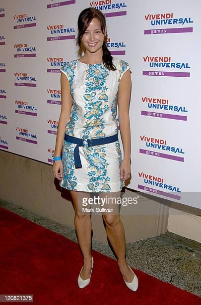 Amelia Cooke during Vivendi Universal Games E3 Kickoff Party at Avalon Hollywood at Avalon Hollywood in Hollywood California United States