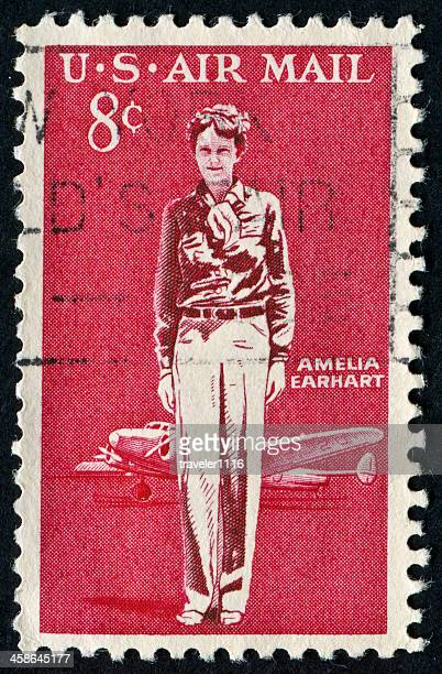amelia earhart - amelia earhart stock pictures, royalty-free photos & images