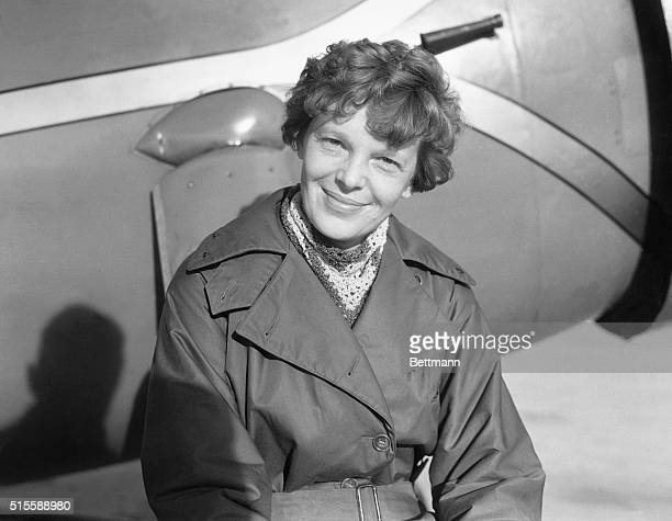 Amelia Earhart Putnam first lady of the air plans to fly solo from Hawaii to the United States according to an announcement recently made The date of...