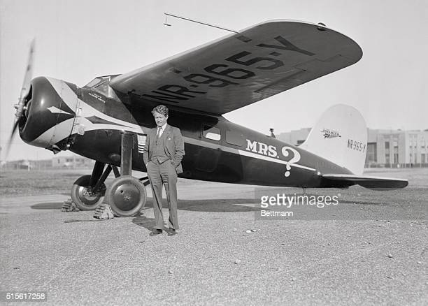 Amelia Earharts New Plane Amelia Earhart Putnam has purchased a practically new Lockheed Vega Monoplane at Roosevelt Field and is said to be out...