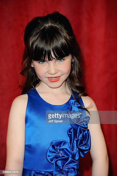 Amelia Flanagan attends the British Soap Awards 2016 at Hackney Empire on May 28 2016 in London England