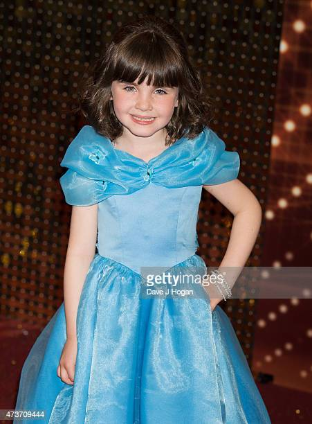Amelia Flanagan attends the British Soap Awards at Manchester Palace Theatre on May 16 2015 in Manchester England