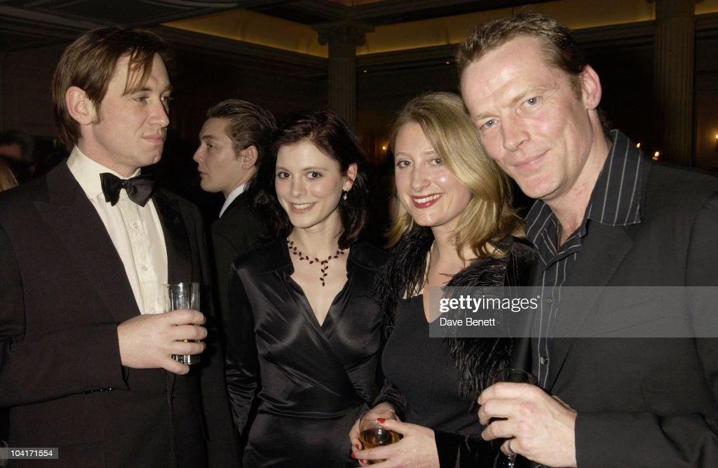 Amelia Fox,susannah Harker & Iain Glen, Evening Standard Film Awards, At The Savoy Hotel, London