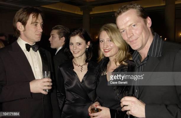 Amelia Foxsusannah Harker Iain Glen Evening Standard Film Awards At The Savoy Hotel London