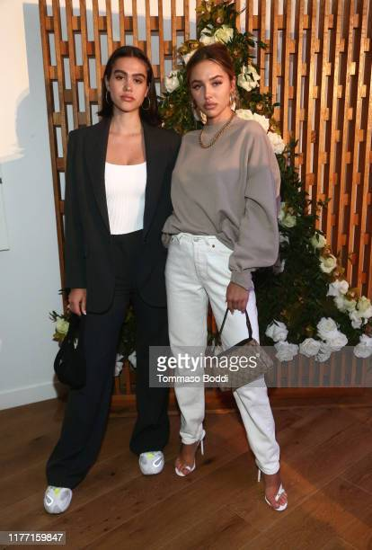 Amelia Gray and Delilah Belle Hamlin attend the AllBright West Hollywood Grand Opening Party on September 25 2019 in West Hollywood California