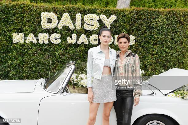 Amelia Gray Hamlin and Lisa Rinna attend Marc Jacobs Fragrances and Kaia Gerber Celebrate DAISY on May 9 2017 in Beverly Hills California