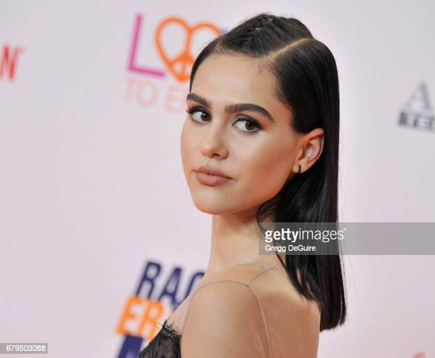 Amelia Gray Hamlin arrives at the 24th Annual Race To Erase MS Gala at The Beverly Hilton Hotel on May 5 2017 in Beverly Hills California