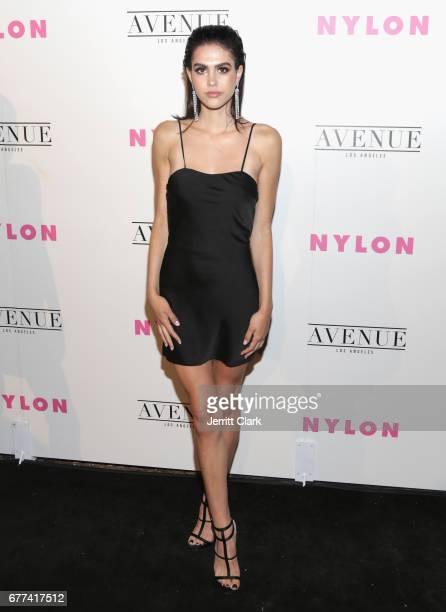 Amelia Gray Hamlin attends NYLON's Annual Young Hollywood May Issue Event With Cover Star Rowan Blanchard at Avenue on May 2 2017 in Los Angeles...