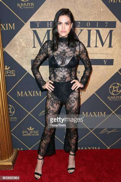 Amelia Gray Hamlin attends the 2017 MAXIM Hot 100 Party at Hollywood Palladium on June 24 2017 in Los Angeles California