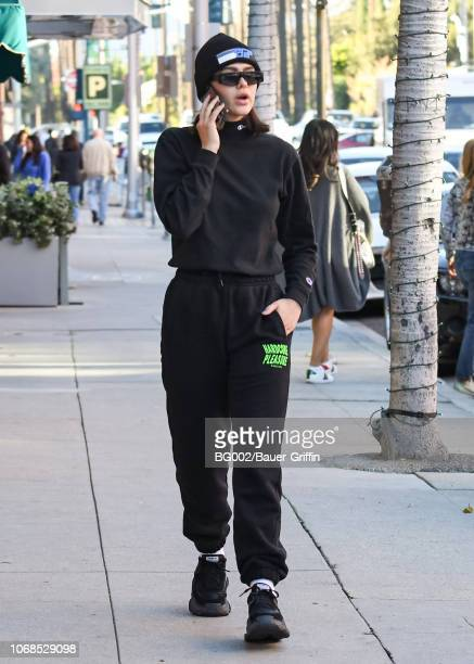 Amelia Gray Hamlin is seen on December 04 2018 in Los Angeles California