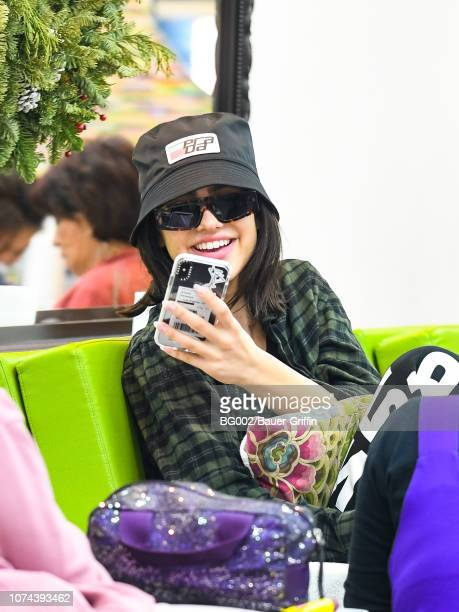 Amelia Gray Hamlin is seen on December 18 2018 in Los Angeles California