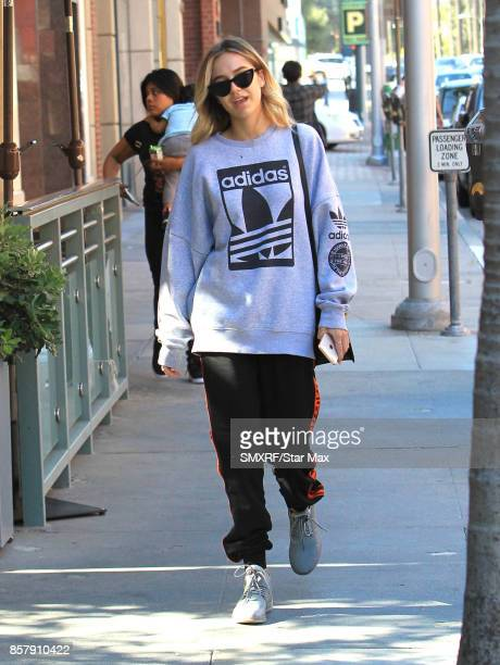 Amelia Gray Hamlin is seen on October 4 2017 in Los Angeles California