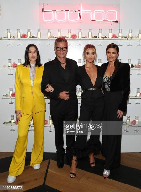 Amelia Grey Harry Hamlin Delilah Belle and Lisa Rinna attend Delilah Belle x Boohoocom Premium at Bootsy Bellows on May 21 2019 in West Hollywood...