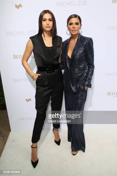 Amelia Hamlin and Lisa Rinna attend the Rachel Zoe Spring 2019 LA Presentation at Hotel BelAir on September 4 2018 in Los Angeles California