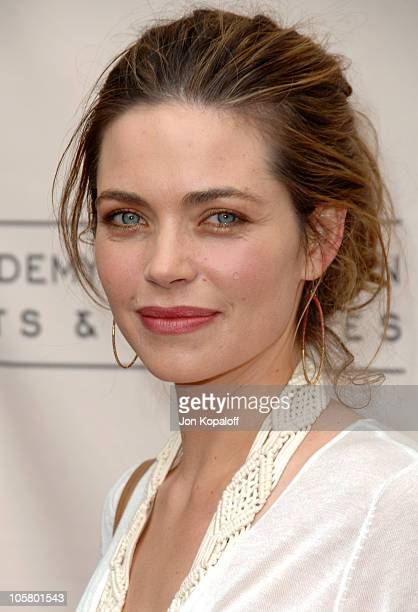 Amelia Heinle during The 33rd Annual Daytime Creative Arts Emmy Awards in Los Angeles Arrivals at The Grand Ballroom at Hollywood and Highland in...