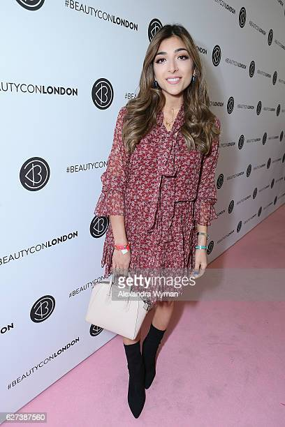 Amelia Liana attends Beautycon Festival London 2016 at Olympia London on December 3 2016 in London England