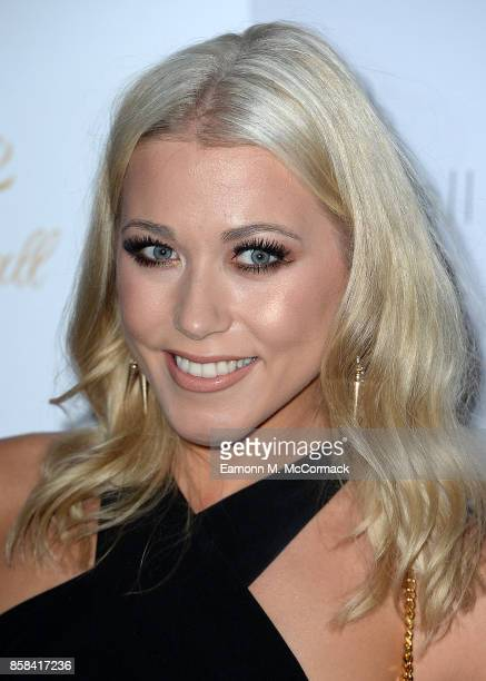Amelia Lilly attends the 2017 Floats Like A Butterfly Ball at The Grosvenor House Hotel on October 5 2017 in London England