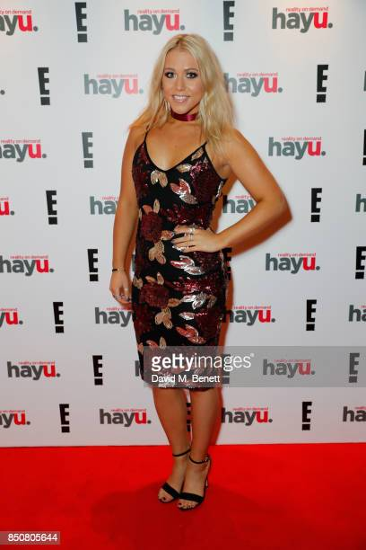 Amelia Lily attends E Entertainment Television celebrating 10 years of 'Keeping Up With The Kardashians' giving fans an immersive experience of the...