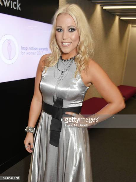 Amelia Lily attends The Inspiration Awards For Women at The Queen Elizabeth II Conference Centre on September 8 2017 in London England