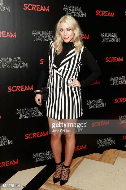 Amelia Lily attends the Michael Jackson's 'Scream' album launch after party at The Freemason's Hall on September 26 2017 in London England