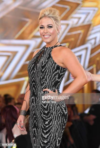 Amelia Lily is the runnerup of the Celebrity Big Brother Final at Elstree Studios on August 25 2017 in Borehamwood England