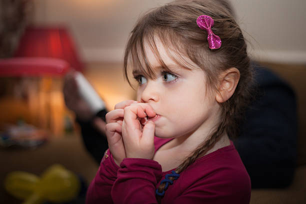 amelia - nail biting stock pictures, royalty-free photos & images