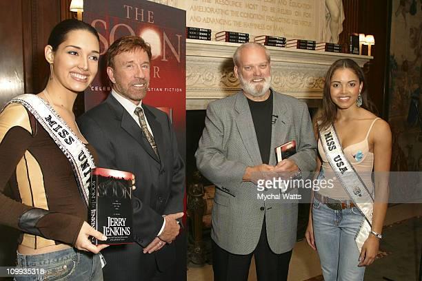 Amelia Vega Chuck Norris Jerry Jenkins and Susie Castillo