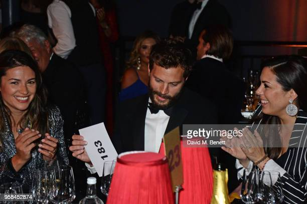 Amelia Warner Jamie Dornan and Jessica de Rothschild attend The Old Vic Bicentenary Ball to celebrate the theatre's 200th birthday at The Old Vic...