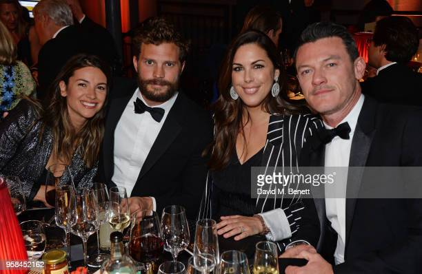 Amelia Warner Jamie Dornan Jessica de Rothschild and Luke Evans attend The Old Vic Bicentenary Ball to celebrate the theatre's 200th birthday at The...