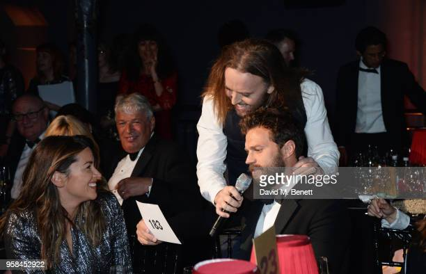 Amelia Warner Tim Minchin and Jamie Dornan attend The Old Vic Bicentenary Ball to celebrate the theatre's 200th birthday at The Old Vic Theatre on...