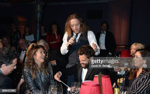 Amelia Warner Tim Minchin Jamie Dornan and Jessica de Rothschild attend The Old Vic Bicentenary Ball to celebrate the theatre's 200th birthday at The...