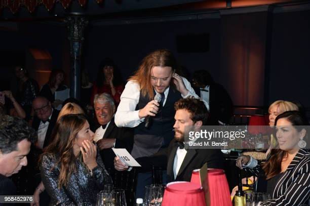 Amelia Warner, Tim Minchin, Jamie Dornan and Jessica de Rothschild attend The Old Vic Bicentenary Ball to celebrate the theatre's 200th birthday at...