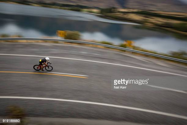 Amelia Watkinson of New Zealand competes during 2018 Challenge Wanaka on February 17 2018 in Wanaka New Zealand